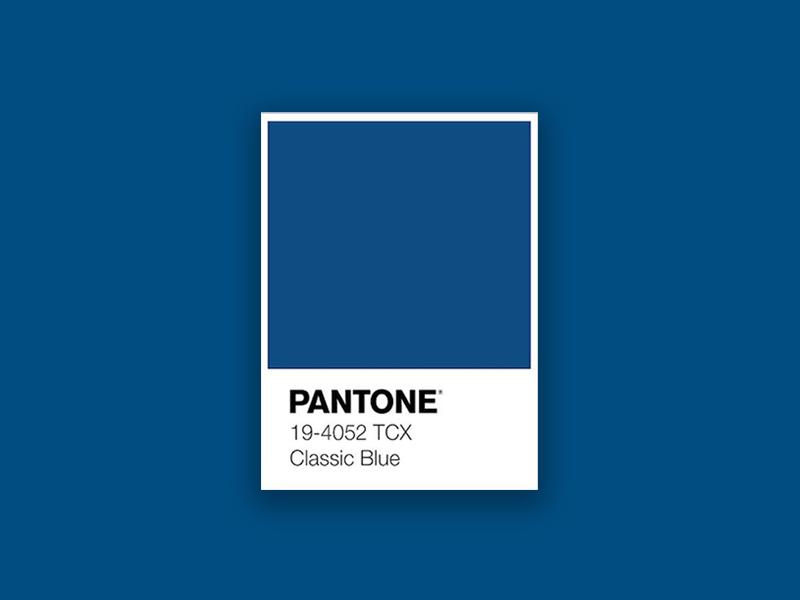 Taking a Look at Pantone Colour of the Year 2020: Classic Blue